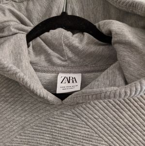 Zara Textured Hoody